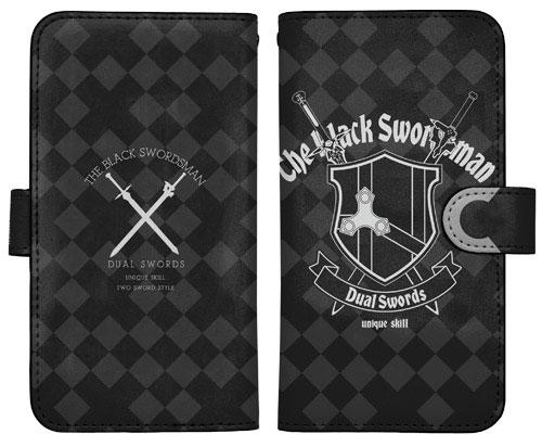 5051784263 ソードアート・オンライン -オーディナル・スケール- 黒の剣士 手帳型スマホケース